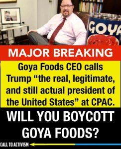 boycott goya foods